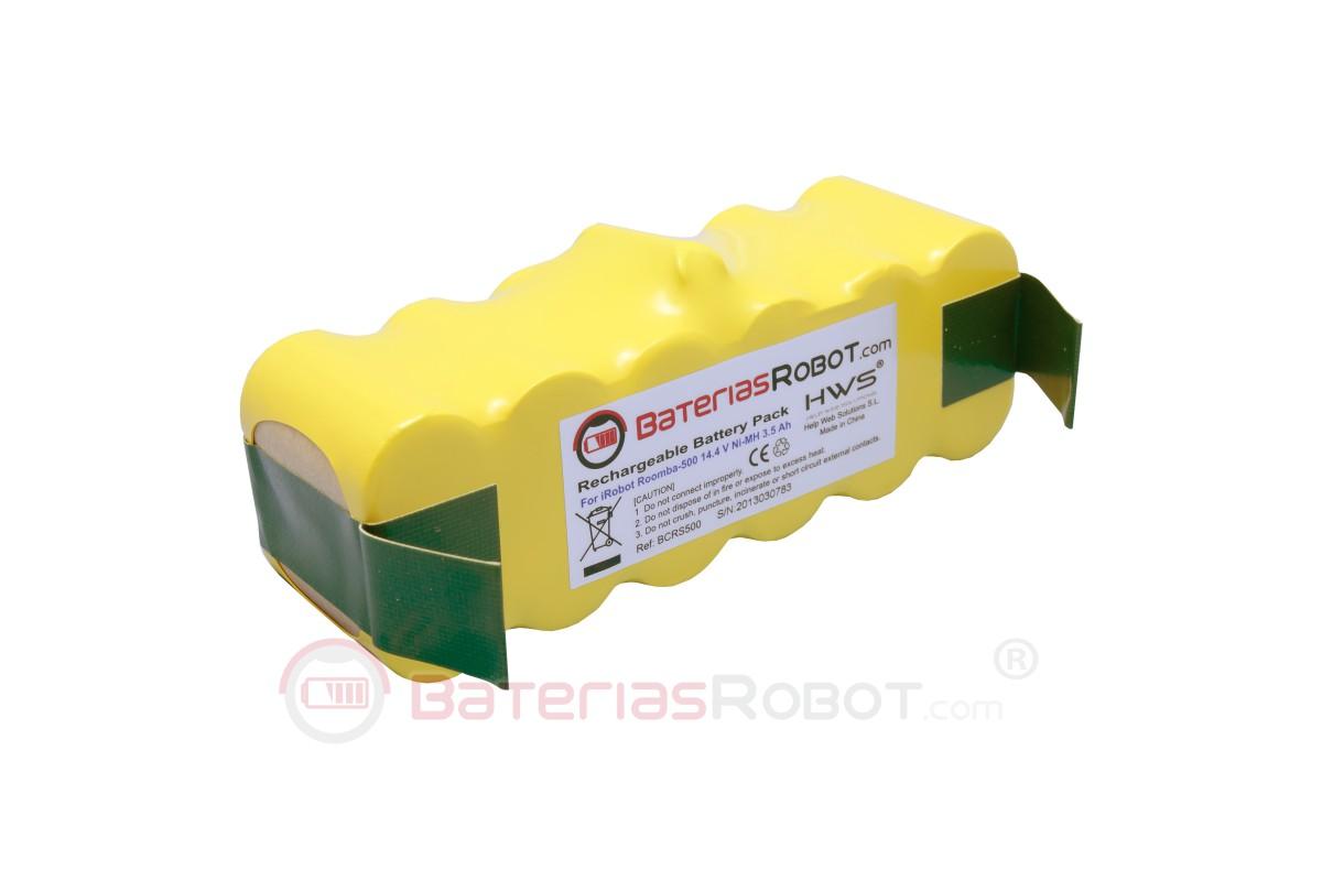 Bateria Original Irobot Xlife Deposito Aerovac Roomba Series 500 600