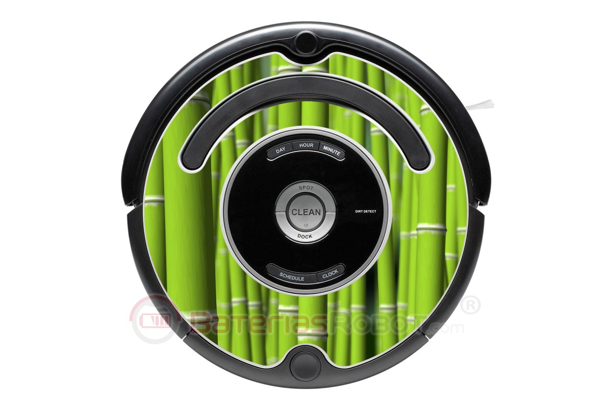 Bamboo Decorative Vinyl For Roomba Serie 500 600