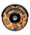 Giraffa. Vinile decorativo per Roomba - Serie 500 600