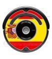 Bandeira da Espanha. Adesivo para Roomba - Série 500 600