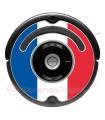 Drapeau de la France. Autocollant pour Roomba - Serie 500 600 / V1