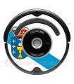Bandera de Galicia. Pegatina para Roomba - Serie 500 600
