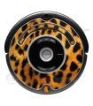 Leopardo. Vinile decorativo per Roomba - Serie 500 600