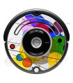 POP-ART Círculos de Kandinsky. Vinil para iRobot Roomba - Série 500 600