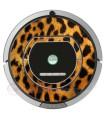 Léopard. Vinyle pour Roomba  - Sèrie 700