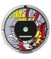 POP-ART Explosion. Vinilo Roomba iRobot - Serie 700
