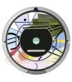 Astratta di Kandinsky 3. Vinile per iRobot Roomba - Serie 700