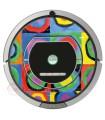 Kandinsky Abstrait 2. Vinyle pour Roomba iRobot - Série 700